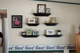 Shelf Decorating Ideas Living Room Living Room Wall Shelf Pleasant 11 Metal 3 Tier Wall Shelf