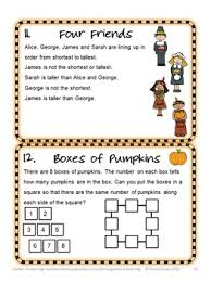math brain teasers for thanksgiving also includes math board