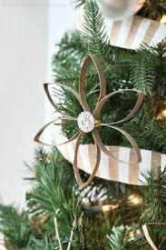 burlap christmas tree ornaments christmas lights decoration