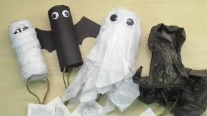diy halloween toilet paper roll crafts youtube