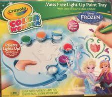 crayola color wonder magic light brush disney frozen ebay