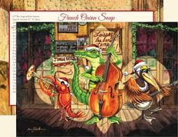 dixieland jazz fleur de lis cards c14djf routh