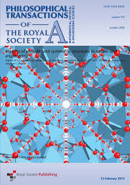 Royal Society Of Chemistry Periodic Table Frameworks With Crystallographic Symmetry Philosophical