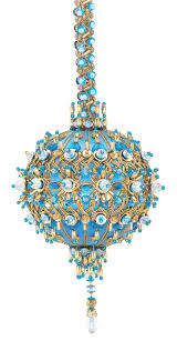 Ornament Chandelier Diy by 179 Best Cracker Box Beaded Christmas Ornaments Images On