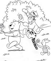 thanksgiving day coloring sheets two easter colouring pictures of disney u0027s winnie the pooh and