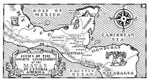 Mayan Empire Map Maya Social Studies 9 Roots Of Society
