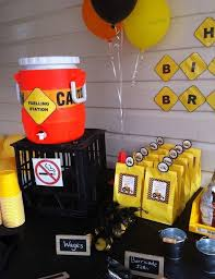 Construction Themed Centerpieces by 179 Best Birthday Construction Theme Images On Pinterest