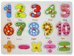 2015 limited kids wooden jigsaw puzzled number finger board