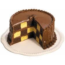 chocolate checkerboard cake recipe wilton