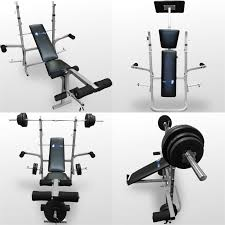 bodyrip folding weight bench gym exercise lifting chest press leg