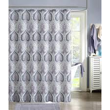 Purple Shower Curtain Sets - beryl mauve gray shower curtain purple floral shower curtain set