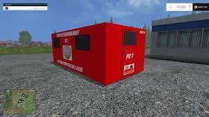 volvo vnl 780 blue truck farming simulator 2017 2015 15 17 poste de commandement speciale pompier v1 fs15 farming simulator