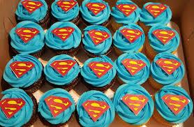 custom cupcakes superman custom cupcakes custom created cakes by brandi custom