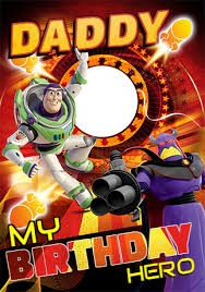 disney toy story birthday card daddy funky pigeon