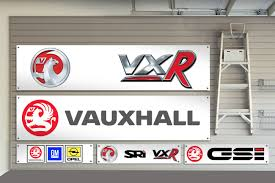 vauxhall gm garage workshop banner