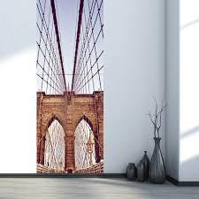 aliexpress com buy diy 3d new york brooklyn bridge wall stickers