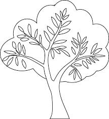 Un arbre à colorier  Doryfr coloriages
