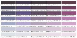 shades of dark purple current color trend purple in your home and on your body