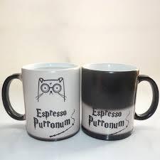 cute mugs cute harrypotter cat color changing magic cup mug u2013 pet clever