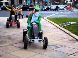 mario bros disfraces en karts pedales carrera la bici