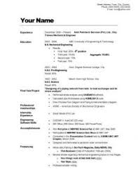 great examples of resumes resume cover letter example general