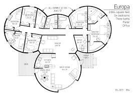 Multi Level Home Plans Floor Plans Multi Level Dome Home Designs Monolithic Dome