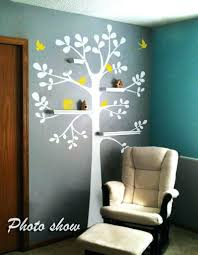Nursery Decor Cape Town Large Wall Vinyl Decals Wall Decor Trees White Tree Decal Large