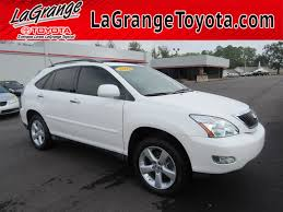 lexus rx 350 2004 pre owned 2008 lexus rx 350 fwd 4dr suv in lagrange p3398a