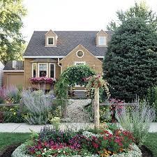 Sidewalk Garden Ideas Garden Design Plans