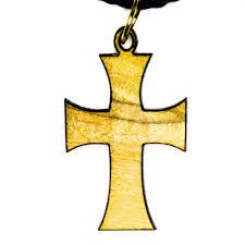 byzantine crosses olive wood cross pendant byzantine cross mimosura jewellery
