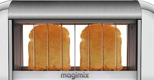 Magimix Clear Toaster Glass Sided Toaster Watch It Burn Wired