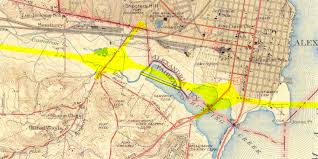 George Washington Bridge Map by Capital Beltway History
