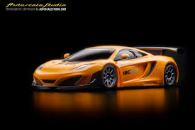 orange mclaren mzp226or mclaren 12c gt3 2013 orange autoscale studio オート