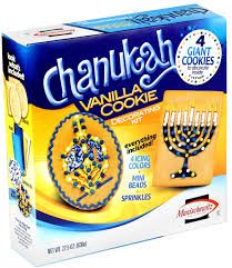 chanukah cookies manischewitz chanukah cookie decorating kit hanukkah gifts for