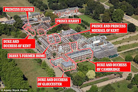 who lives in kensington palace princess eugenie s wedding plans put on hold amid d row daily