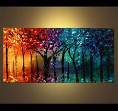 abstract tree paintings abstract art work of trees http www