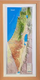 Biblical Map Relief Maps Of Israel Biblical Maps Holyland Maps Old Testament