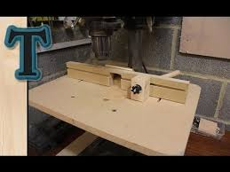 Drill Press Table Build A Drill Press Table Youtube