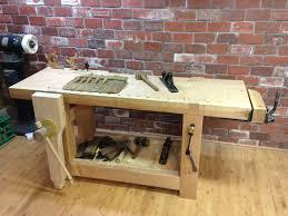 custom made french roubo workbench 18th c style by broadleaf