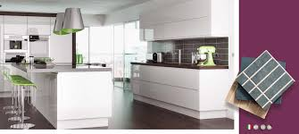 lucente white high gloss kitchens on trend kitchen collection