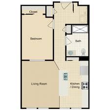 Granny Flat Floor Plans 1 Bedroom Bowman Senior Residences Availability Floor Plans U0026 Pricing