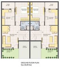 x duplex house plan escortsea incredible inspiration plans modern