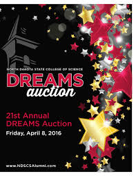 2016 dreams auction flip book by north dakota state college of