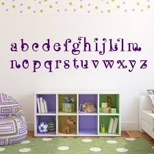 Popular Abc Wall DecalsBuy Cheap Abc Wall Decals Lots From China - Alphabet wall decals for kids rooms