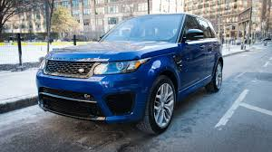 range rover sport blue the range rover sport svr is the closest i u0027ll get to flying a