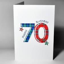 scottish birthday card 70 wwtn70 scottish birthday cards