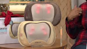 Homedics 3 Homedics 3d Shiatsu Massage Pillow With Heat With Leah Williams