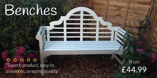Garden Bench With Planters Garden Benches 215 From 34 99