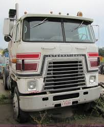 luxury semi trucks cabs 1980 international transtar ii cab over semi truck item 52