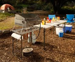 lifetime camping tables 80286 5 5 u0027 fold in half cooking tailgate table